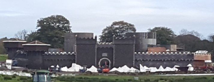 Winterfell set as it looks for season eight
