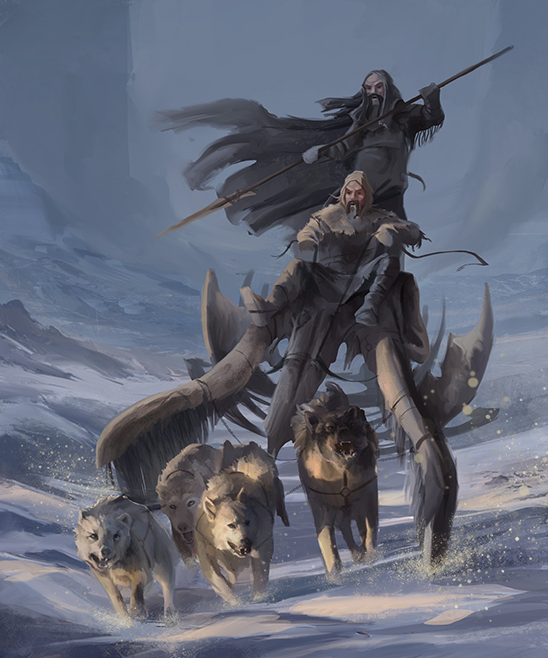 Art by Paolo Puggioni for the Game of Thrones RPG.