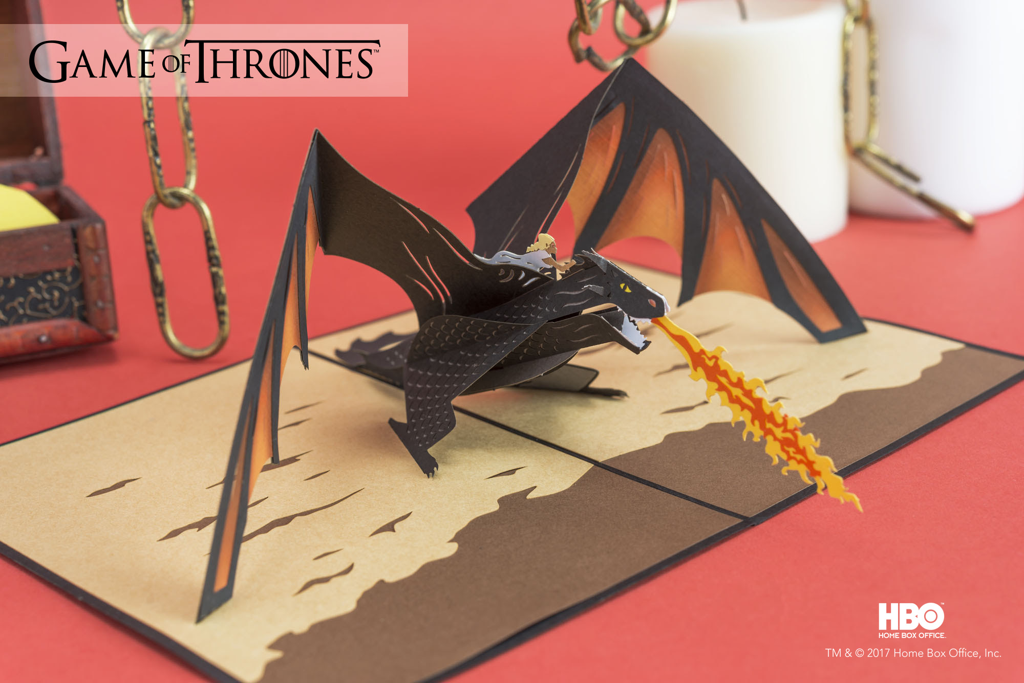 Stunning game of thrones paper art released by lovepop unnamed jeuxipadfo Images