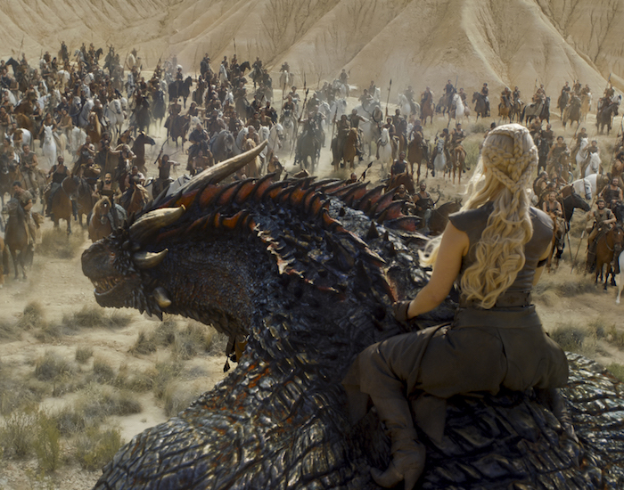 Daenerys on dragonback would be a classic addition to any style of home decor, right?