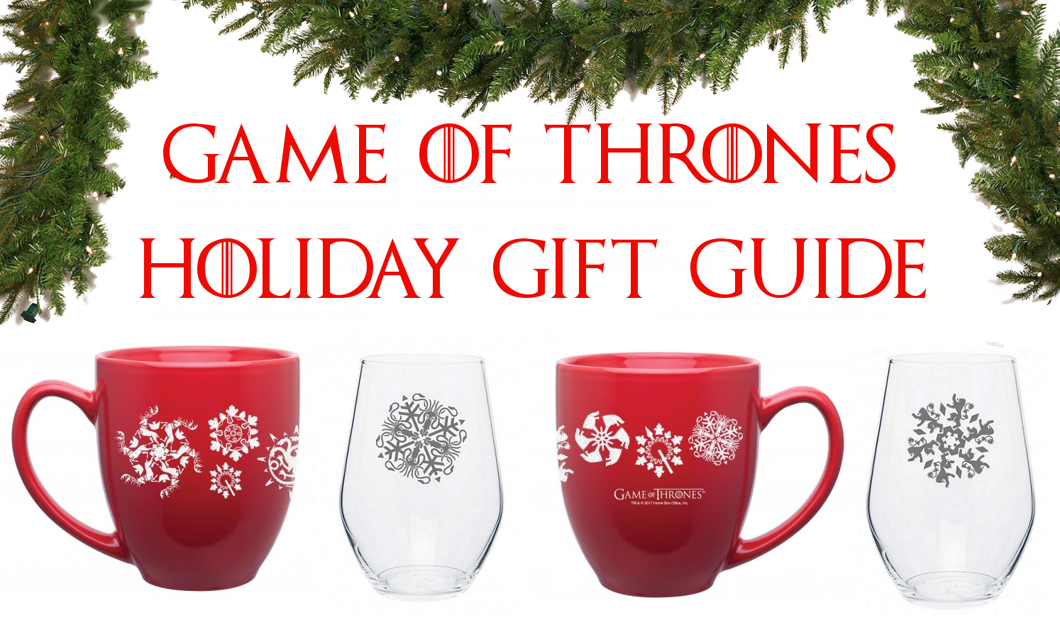 Game of Thrones Holiday Guide Banner