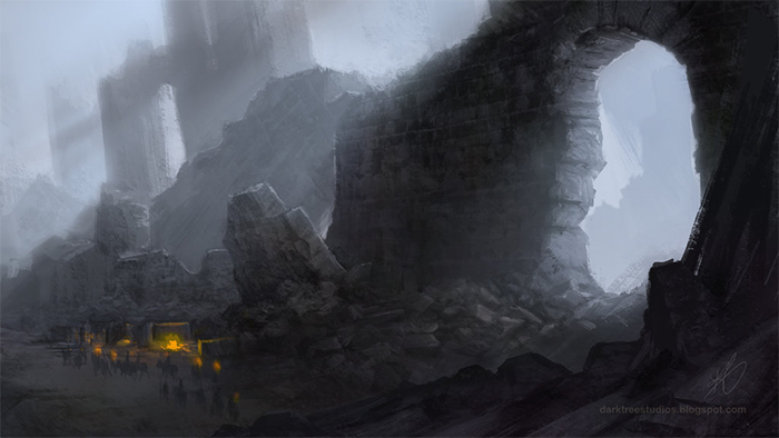Harrenhal Ruins by GrendelGrack