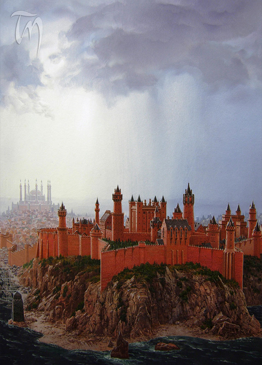 King's Landing by Ted Nasmith