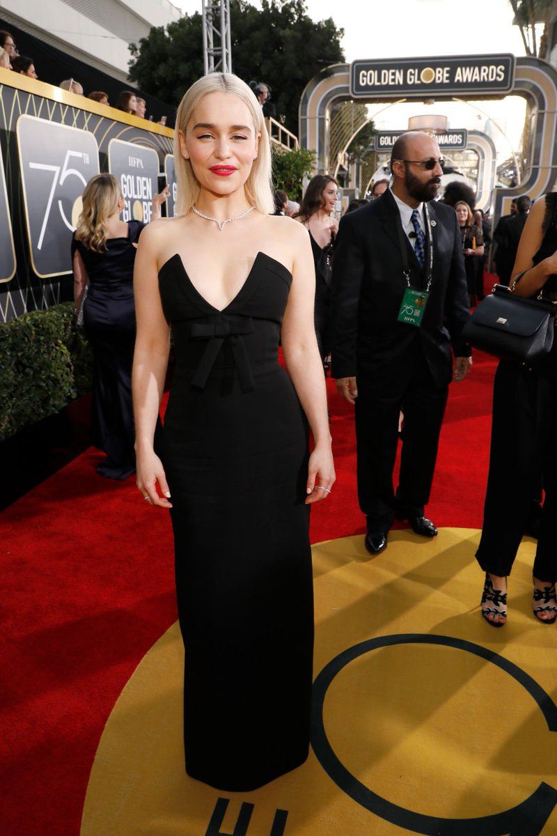 Who didn%e2%80%99t wear black golden globes and why
