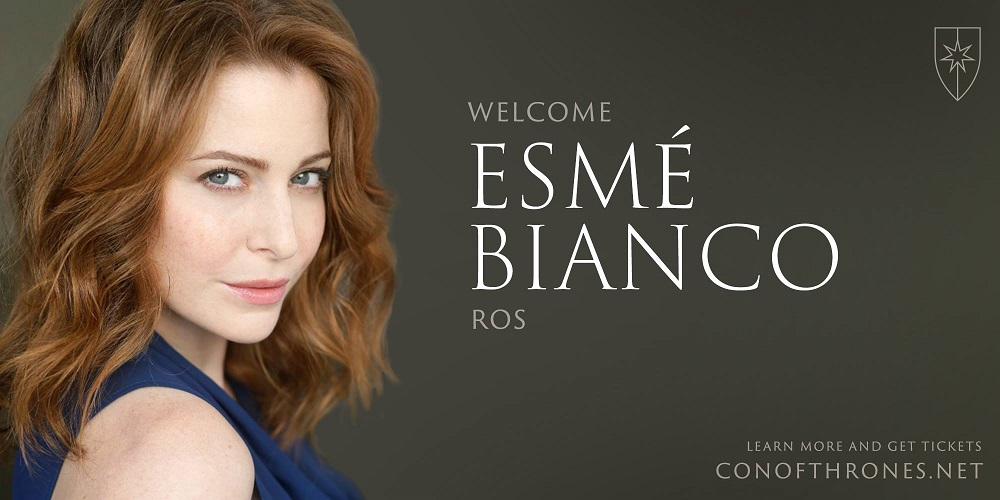 Esme Bianco Con of Thrones