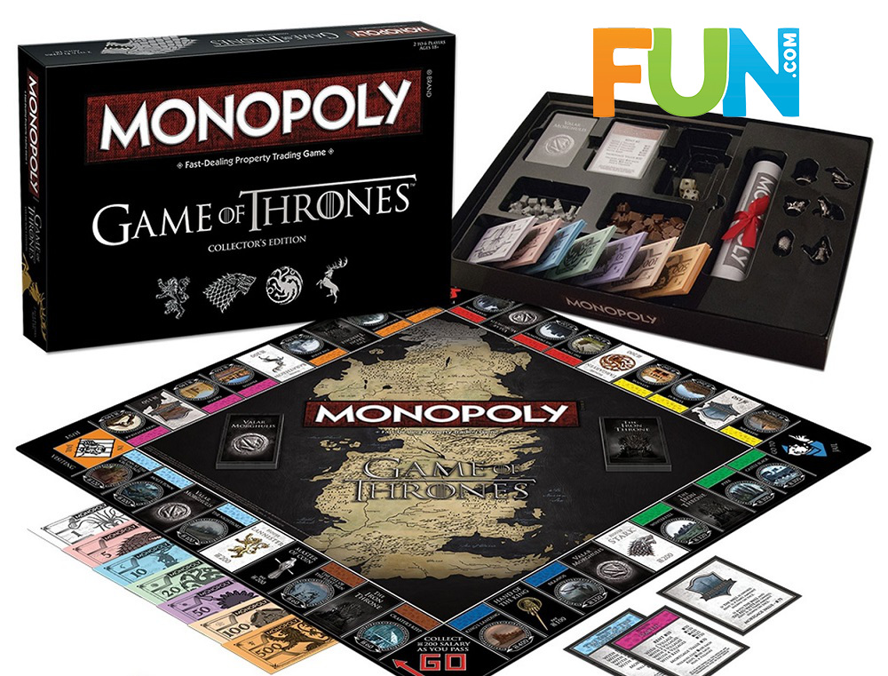 Game of thrones Monopoly funcom