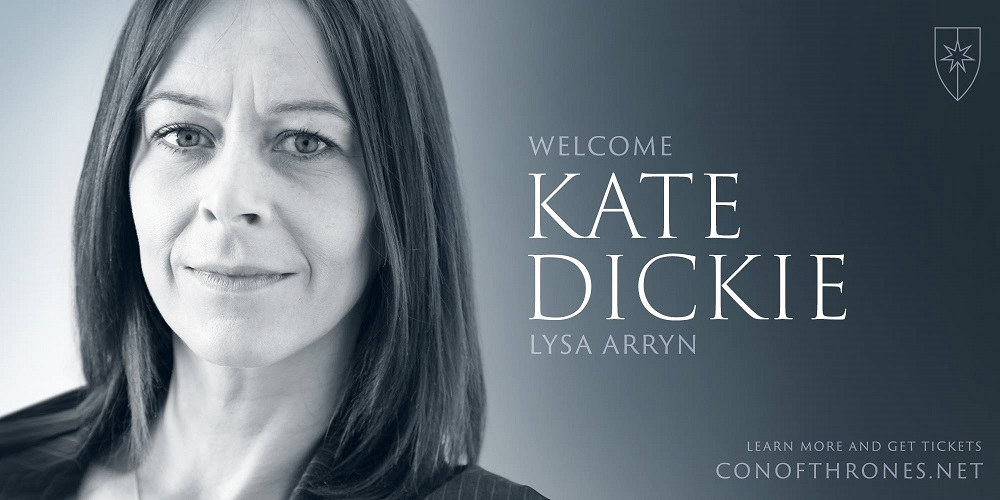 Kate Dickie Con of Thrones