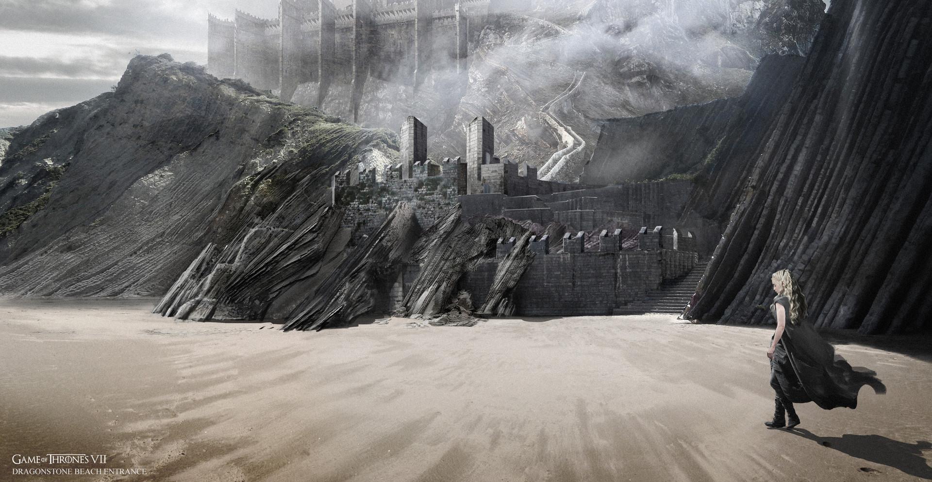 Belshaw Concept Art Dragonstone 1