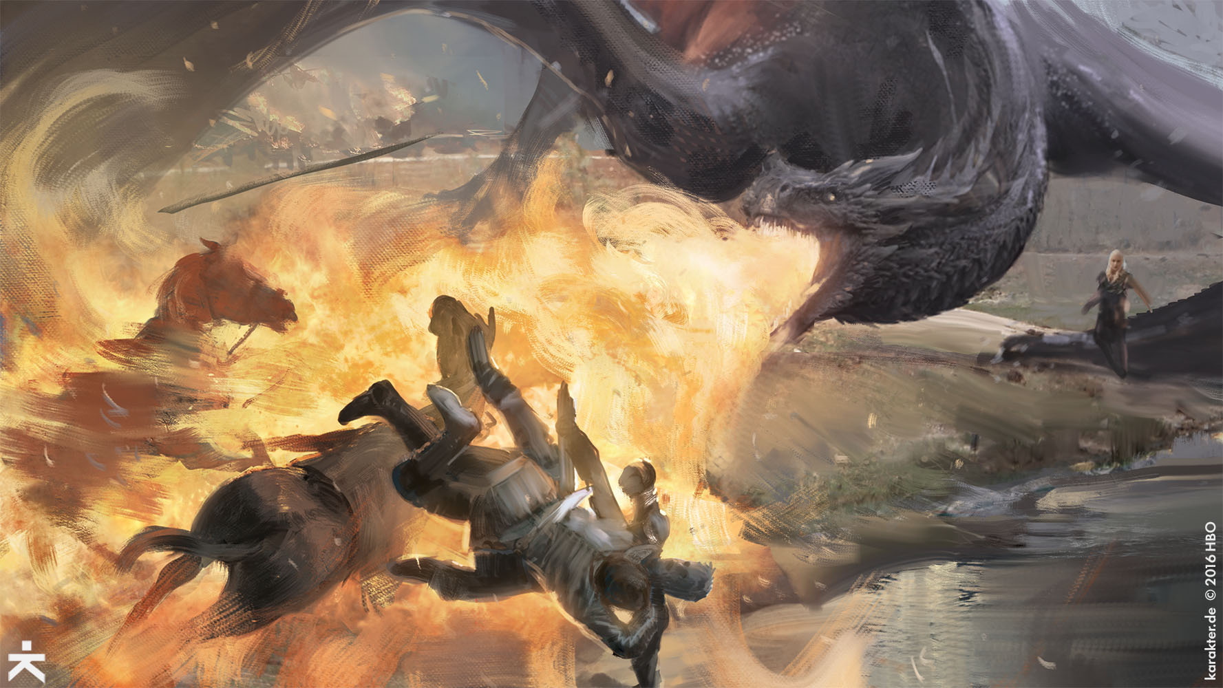 The Amazing Concept Art of Game of Thrones Season 7: Part 1 ...