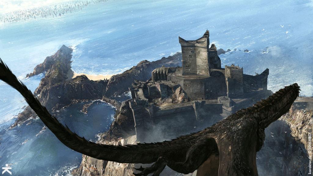 Karakter Concept Art Dragonstone Drogon