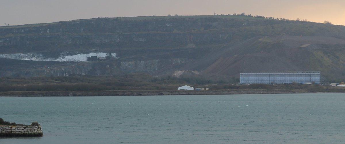 Notice the Castle Black set to the left, built into the quarry.