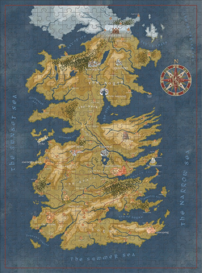 Dark horse and hbo show off exciting upcoming game of thrones coming up soon will be daenerys targaryens map markers from season 7 including houses targaryen stark lannister and greyjoy along with the unsullied gumiabroncs Images