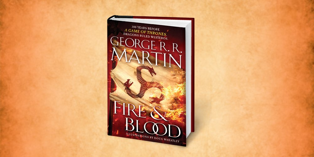 Martin's 'Fire & Blood' to be released soon
