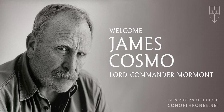 James Cosmo Con of Thrones