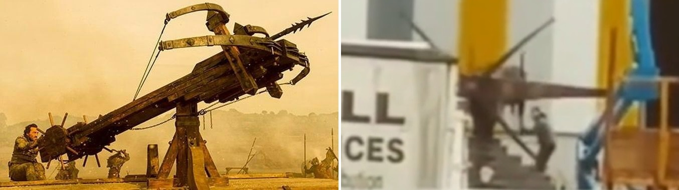 The new scorpion also has a new design, with two additional arms.