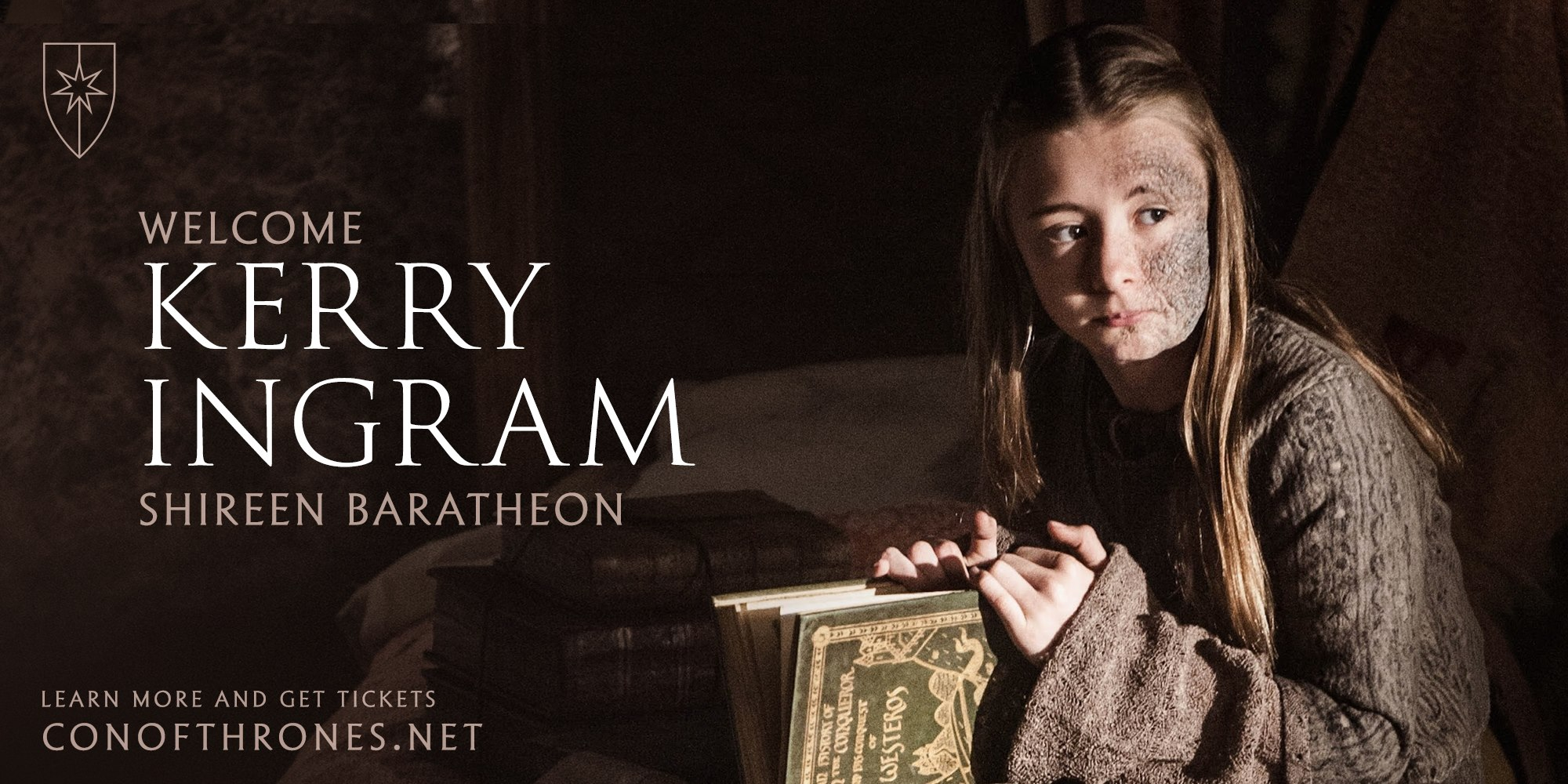 Con of Thrones Kerry Ingram Shireen
