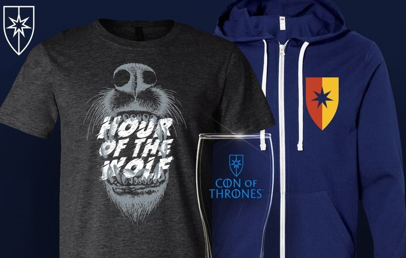 Con of Thrones merch package