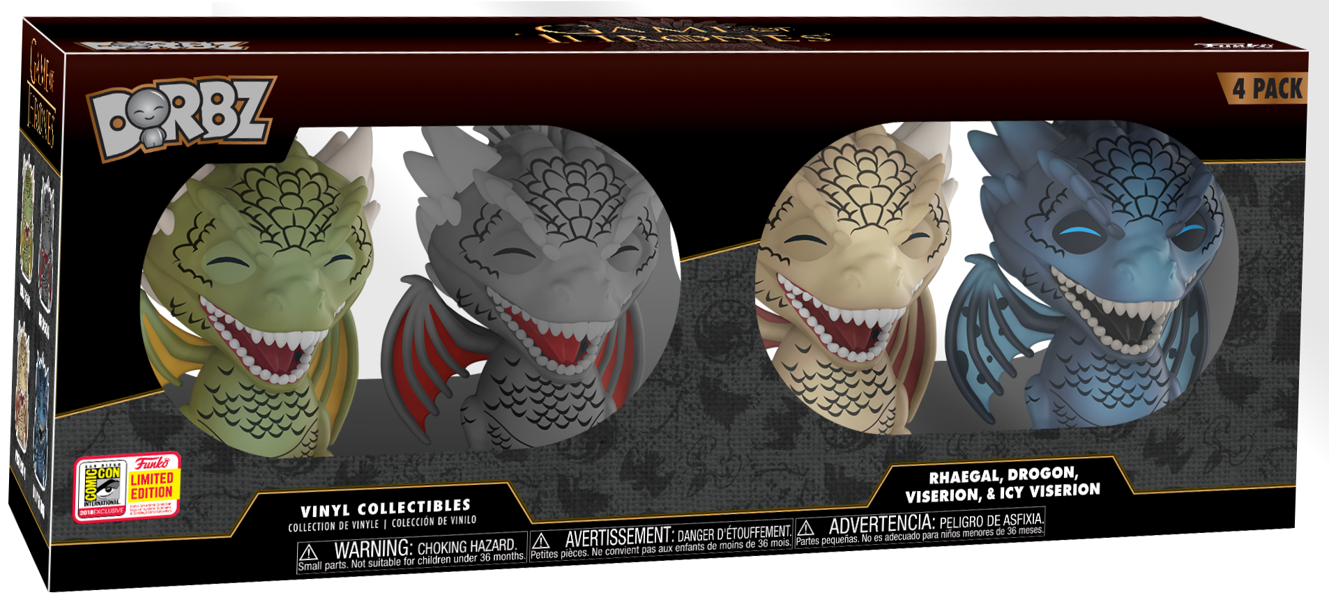 Funko Pop Dorbz Dragons Box