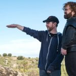 Matt Shakman directing Peter Dinklage. Photo: HBO (via THR)