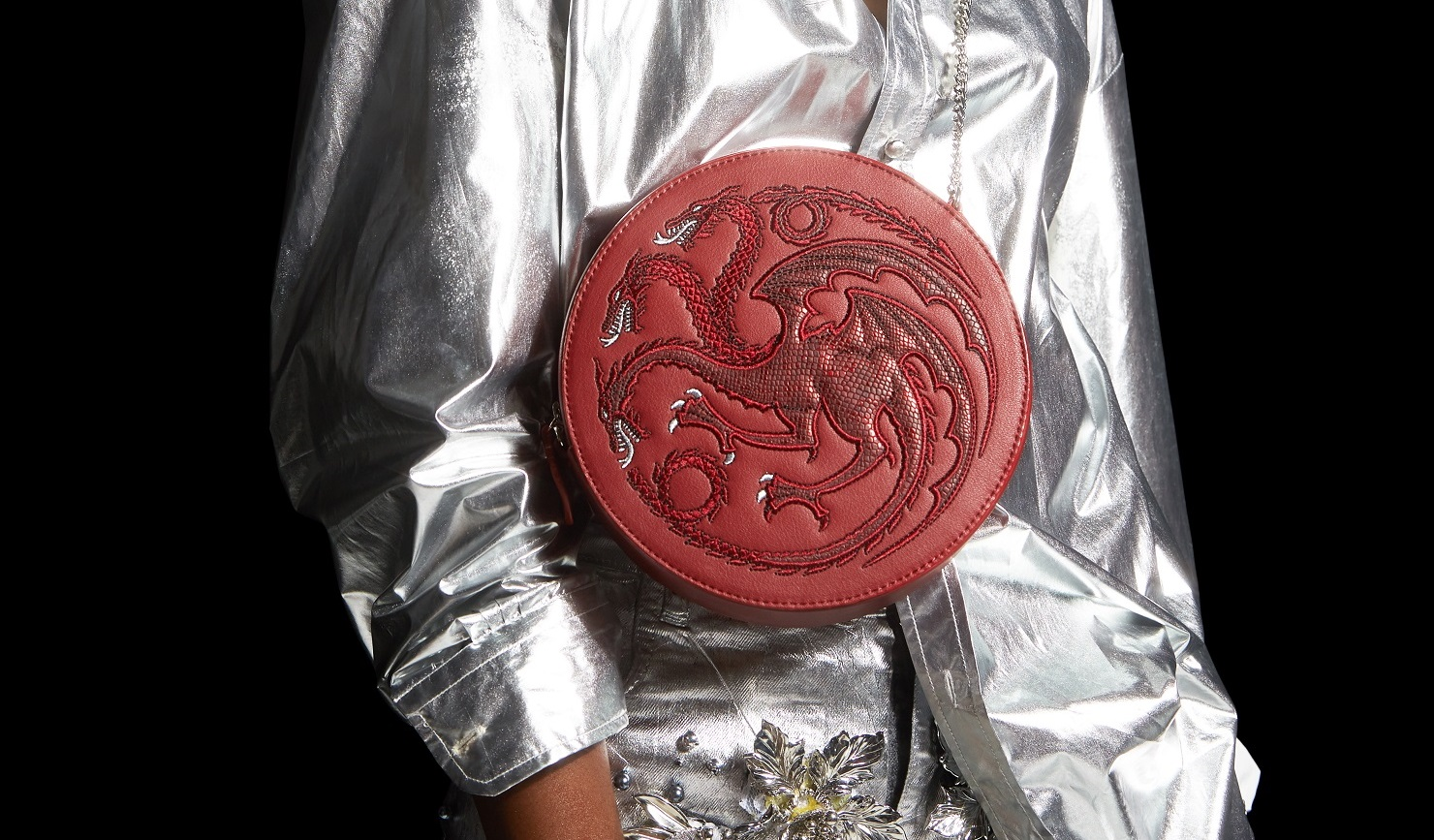 Targaryen Round Crossbody Red 1