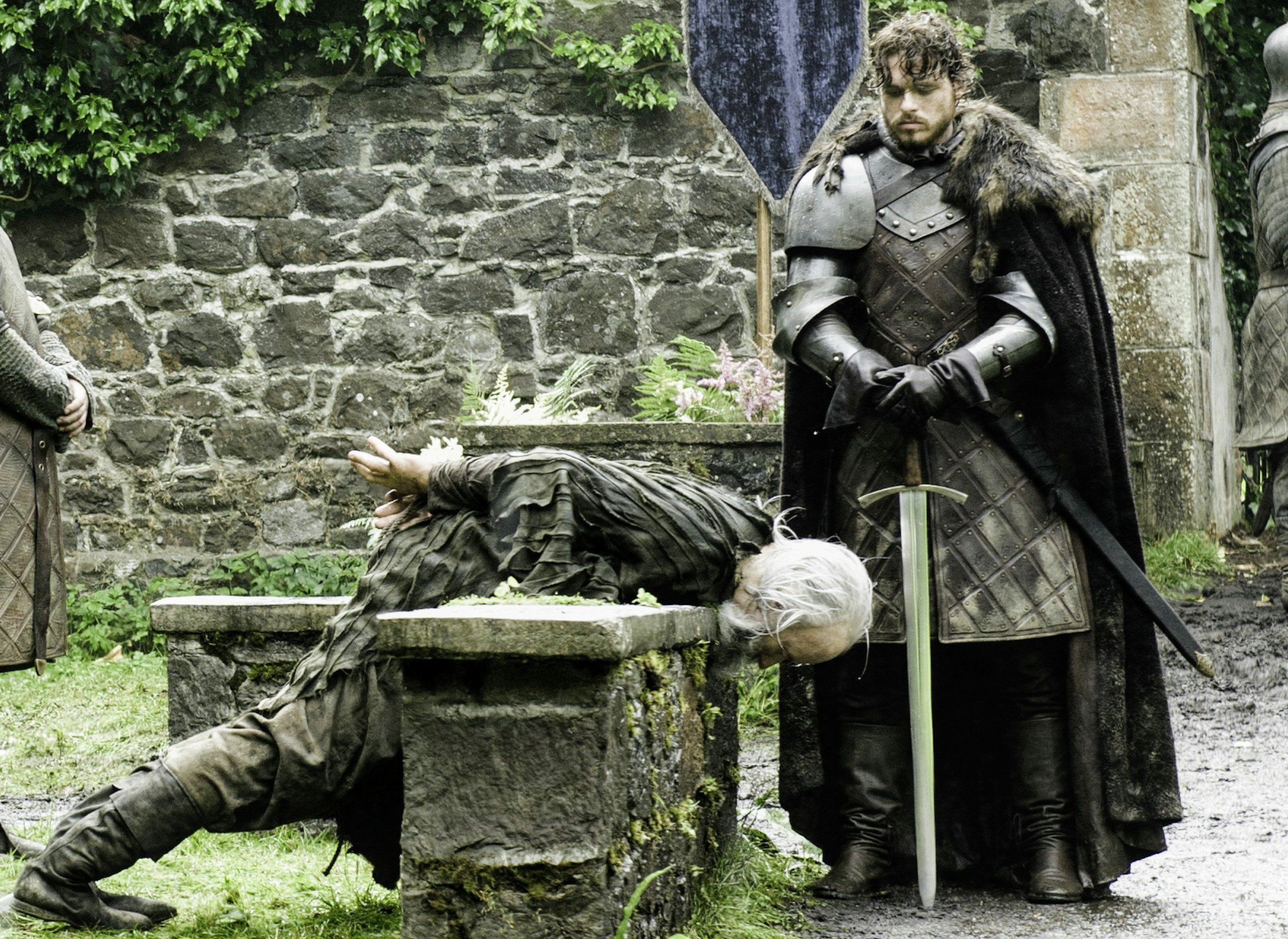 Robb Stark Execution of Karstark Season 3