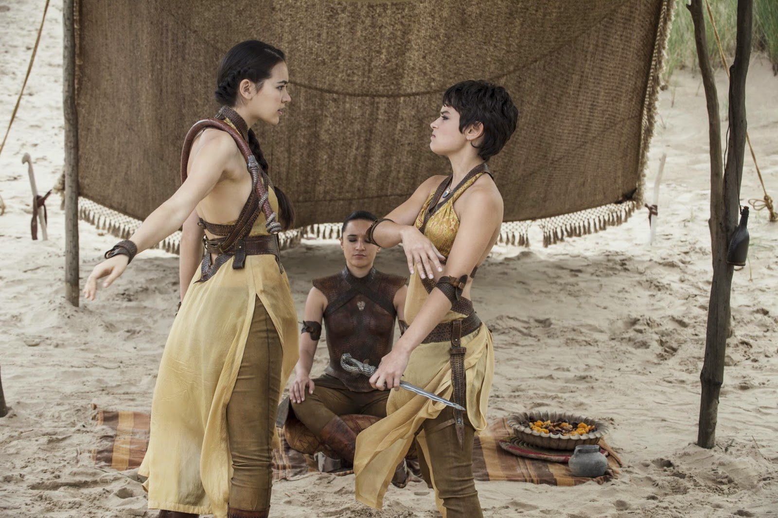 Oh, Dorne...we had such high hopes for you and the Sand Snakes.