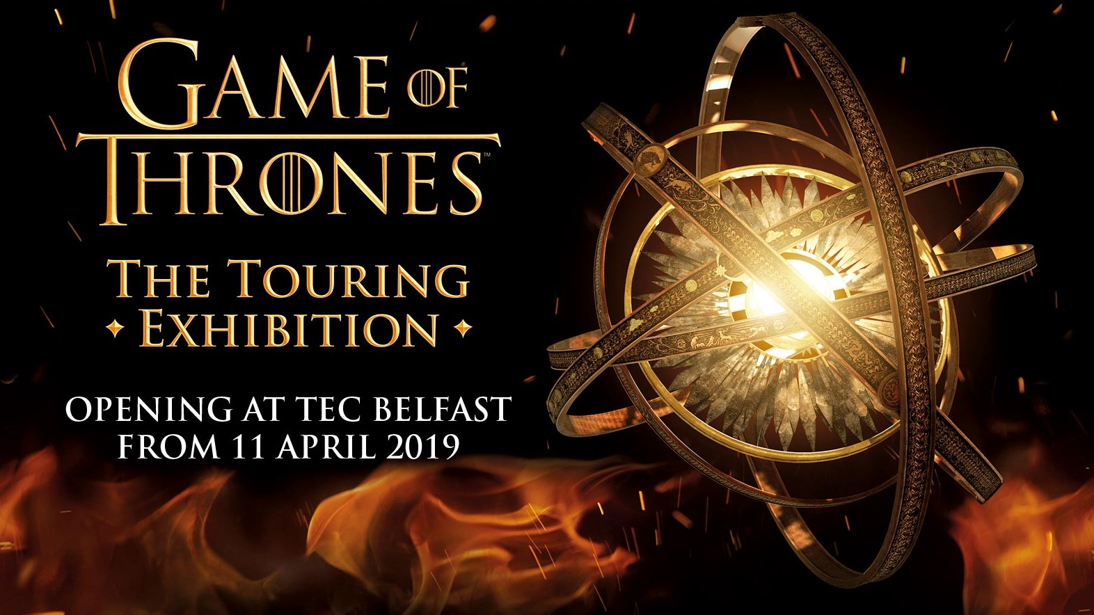 Game of Thrones Belfast Touring Exhibition