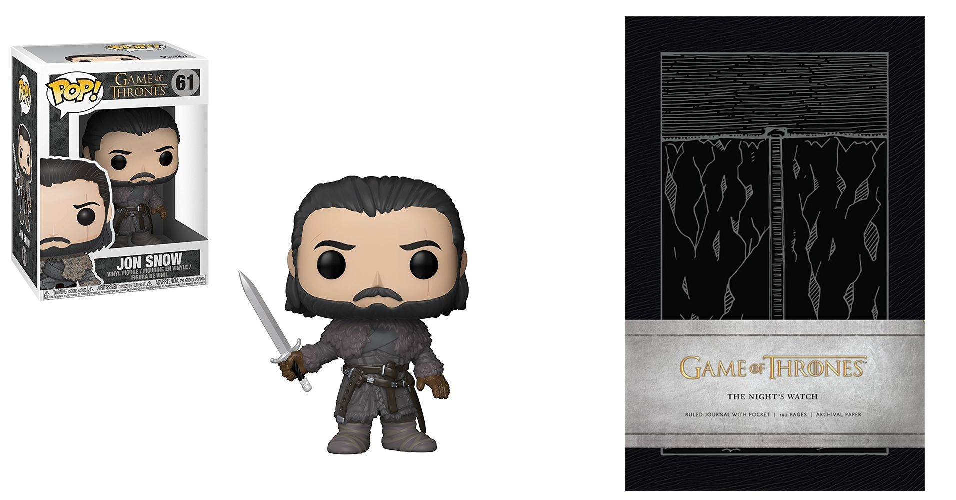 Jon Snow Funko 61 Beyond the Wall Night's Watch Journal