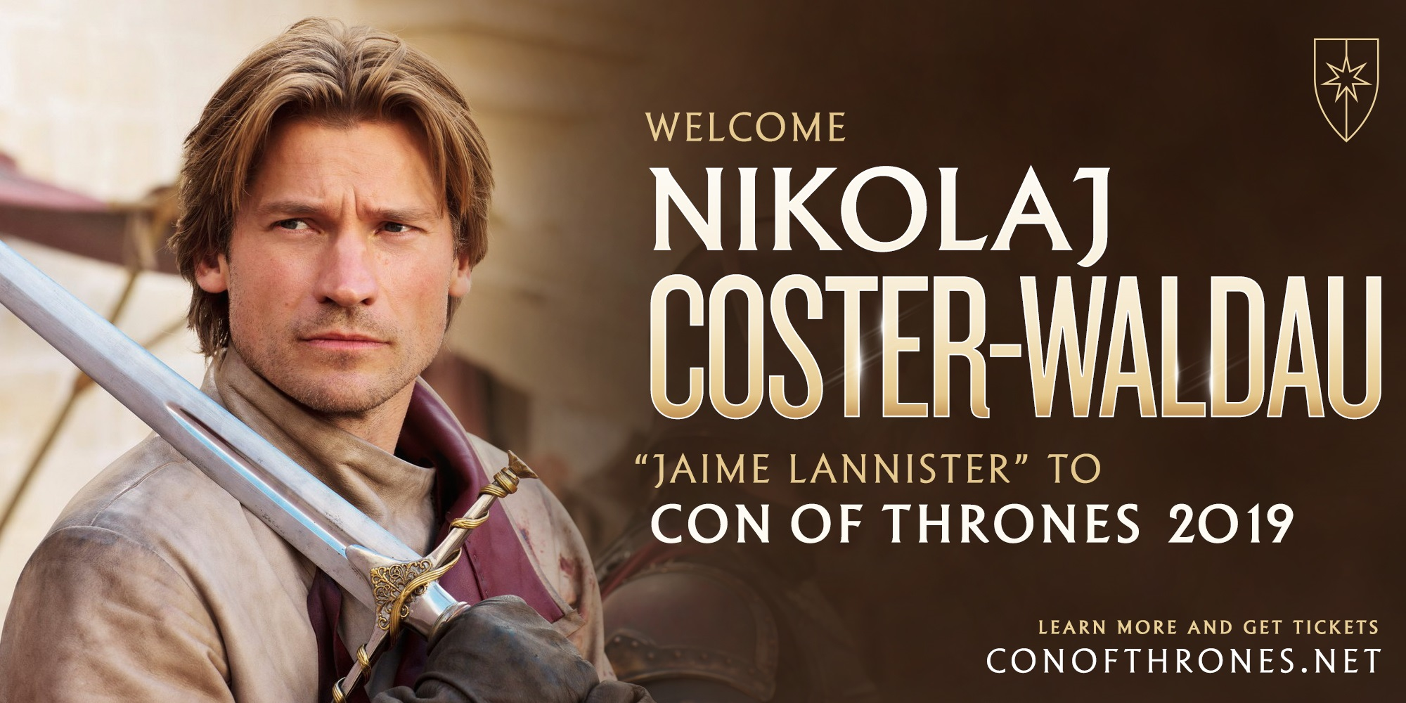 Nikolaj Coster Waldau Con of Thrones