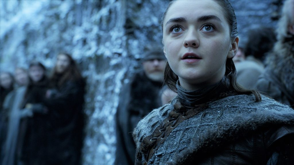 Game of Thrones Season 8 Arya Surprise Dragon