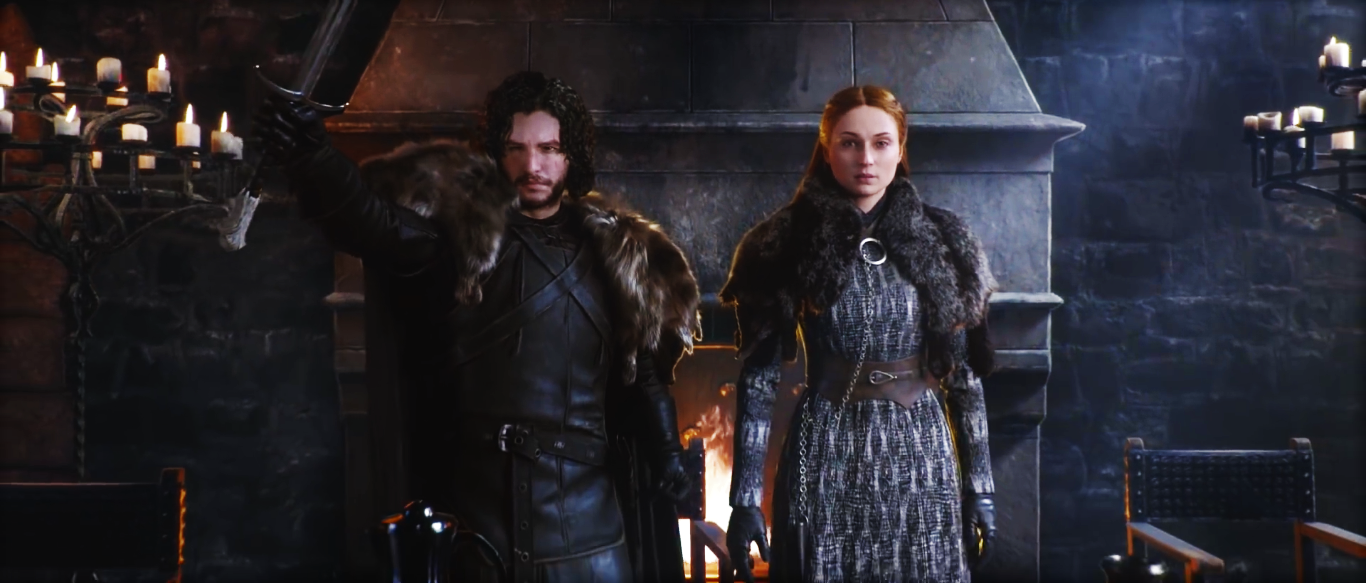 Game of Thrones Winter is Coming Videogame Jon Sansa
