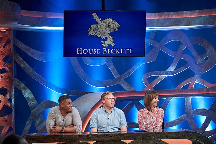 Team Beckett will feature, from left,
