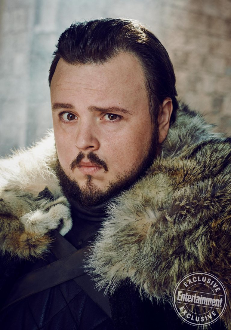 John Bradley Samwell Tarly Game of Thrones