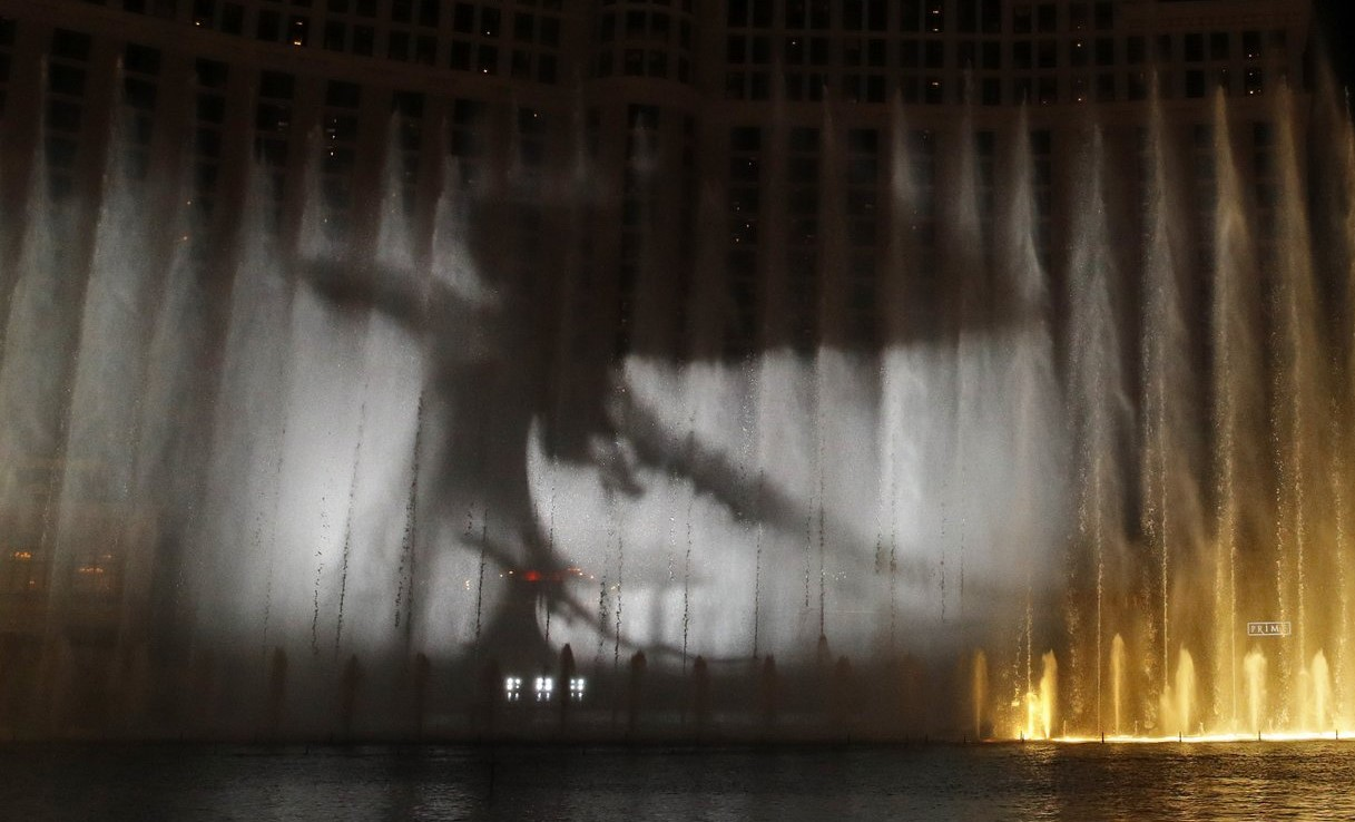 Bellagio Game of Thrones Season 8 Fountains Show