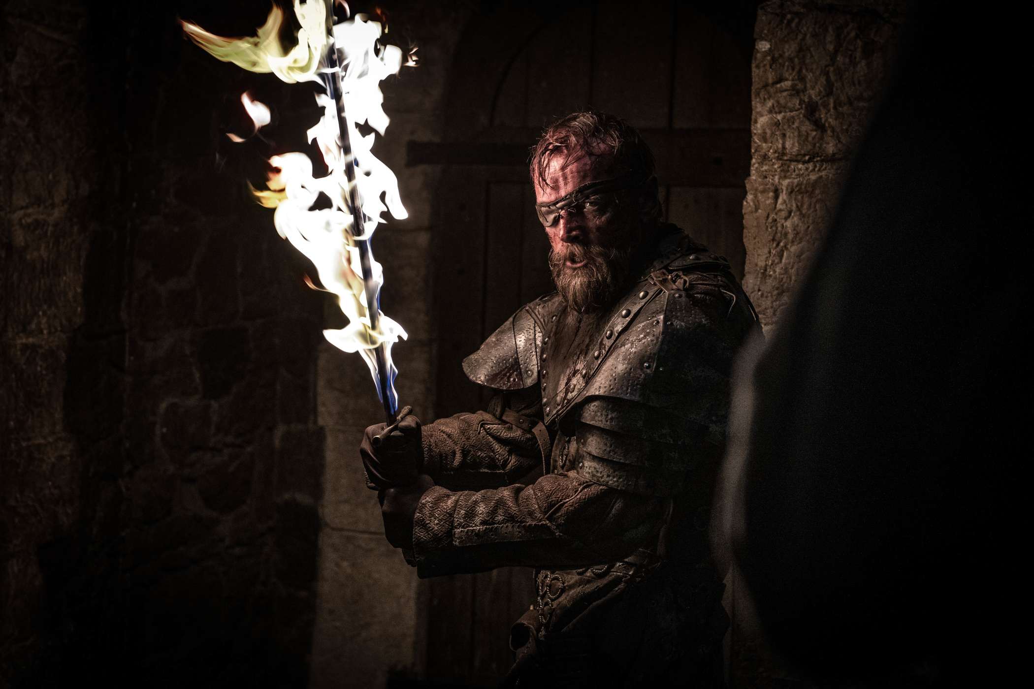 Beric Dondarrion Season 8 803 The Long Night