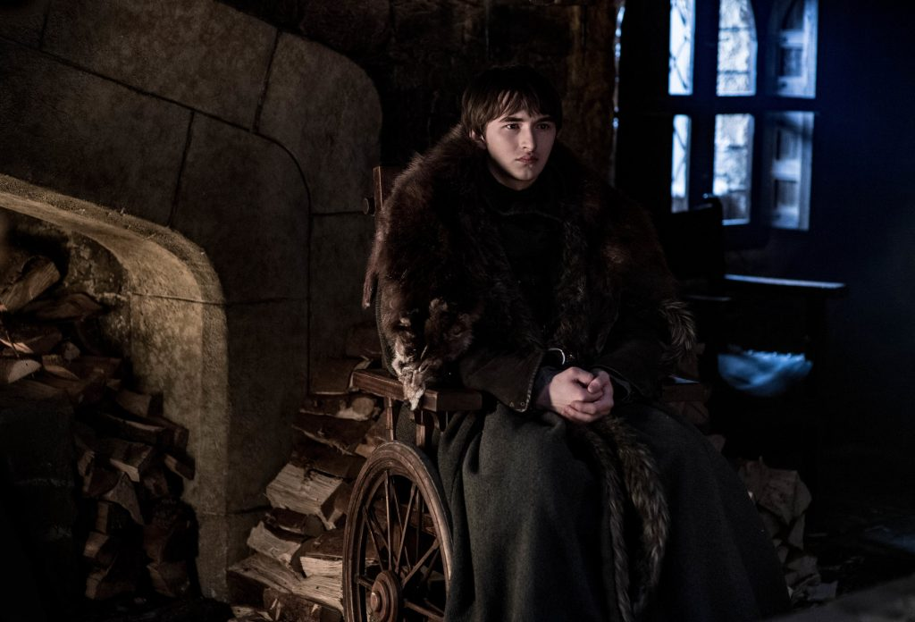 Isaac Hempstead-Wright as Bran. Photo: Helen Sloan / HBO
