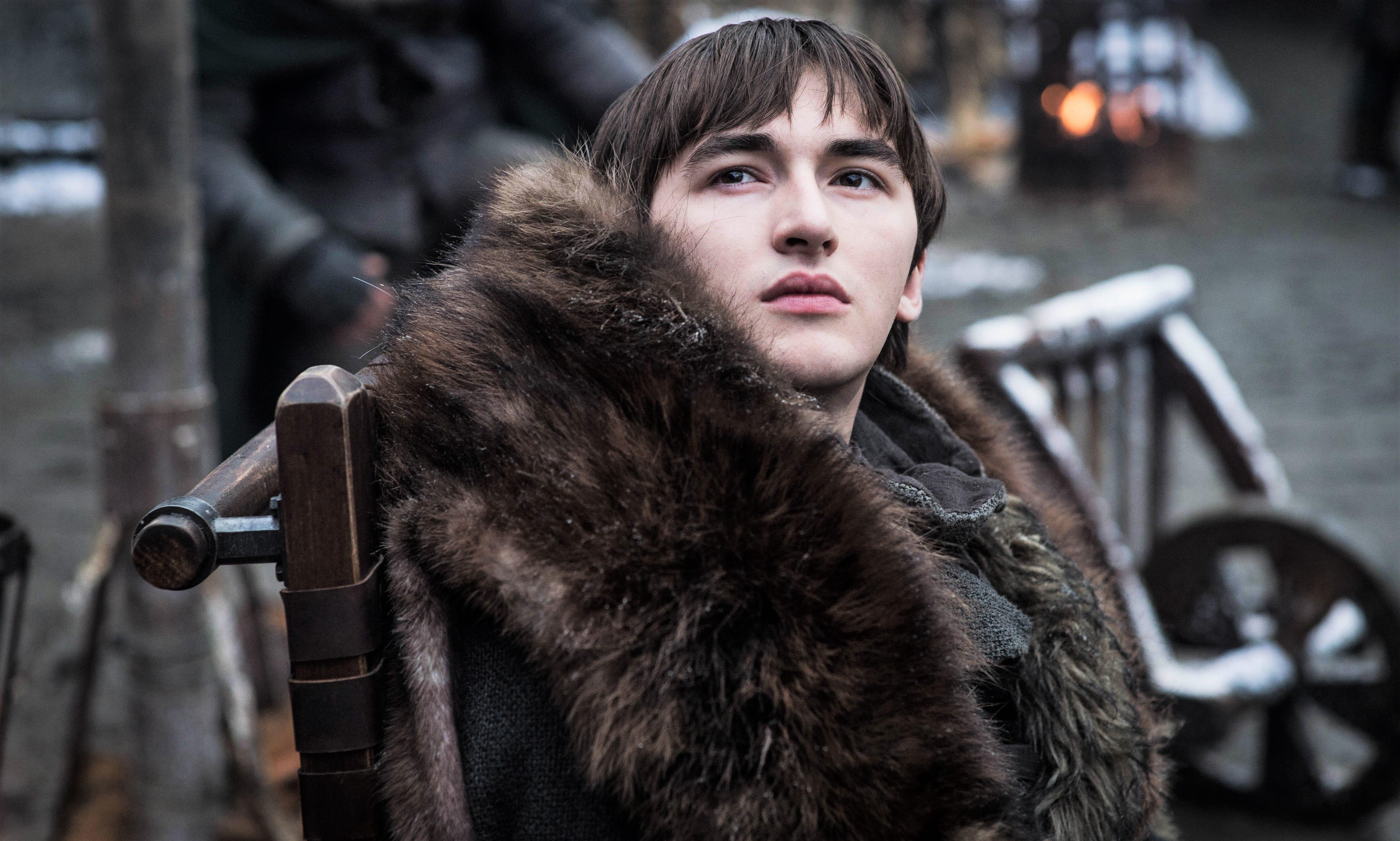 Bran Stark Winterfell Courtyard Season 8