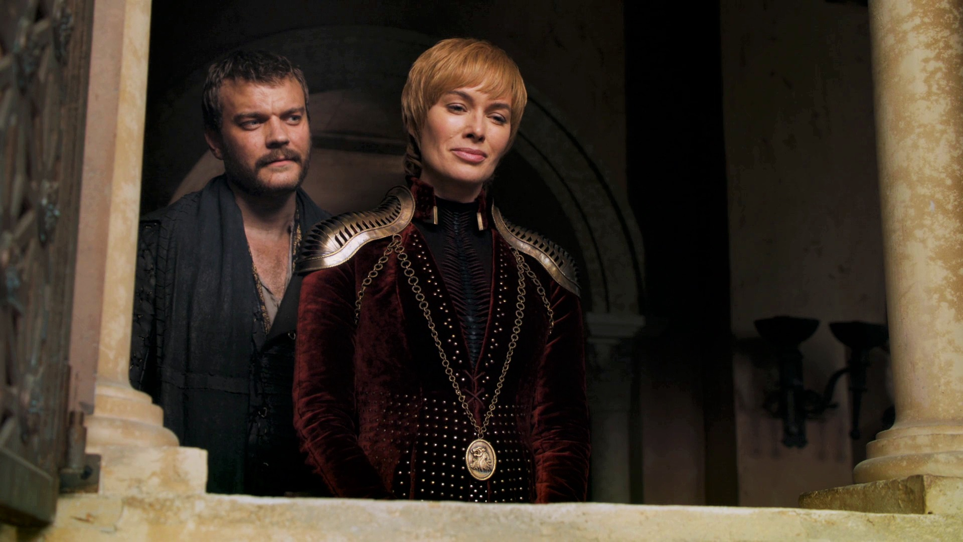 Cersei Lannister Euron Greyjoy Red Keep Season 8 804