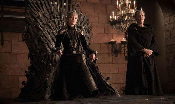 Cersei Lannister (Lena Headey), Qyburn (Anton Lesser). Photo: HBO, via Express.