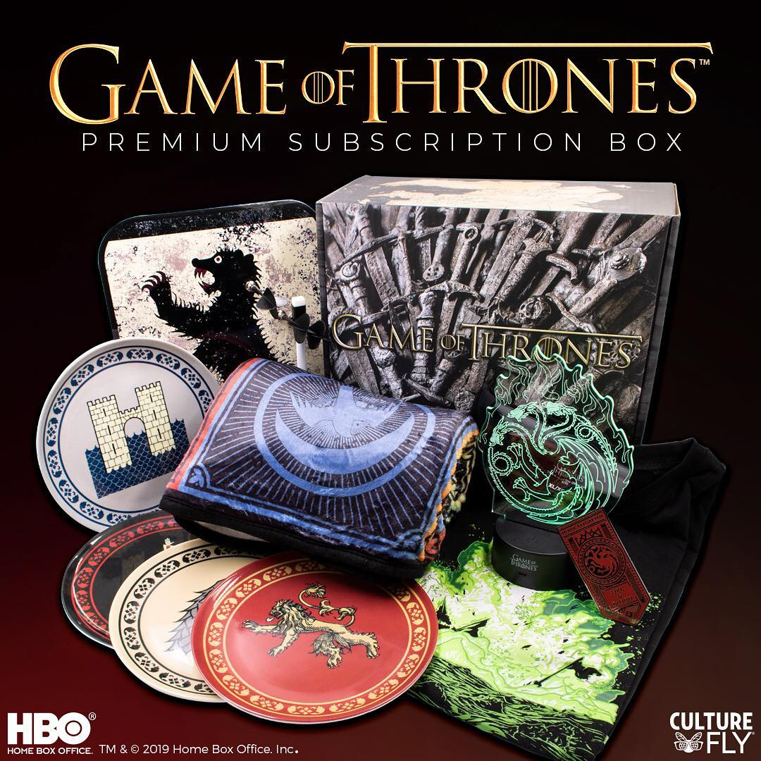 Check out the newest CultureFly Game of Thrones Subscription