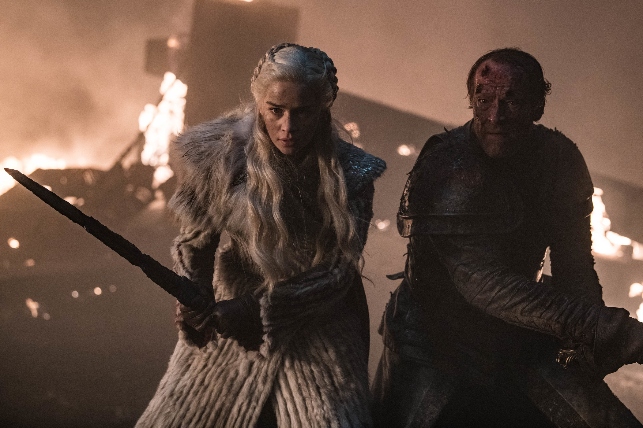 Daenerys Targaryen Jorah Mormont Season 8 803 The Long Night