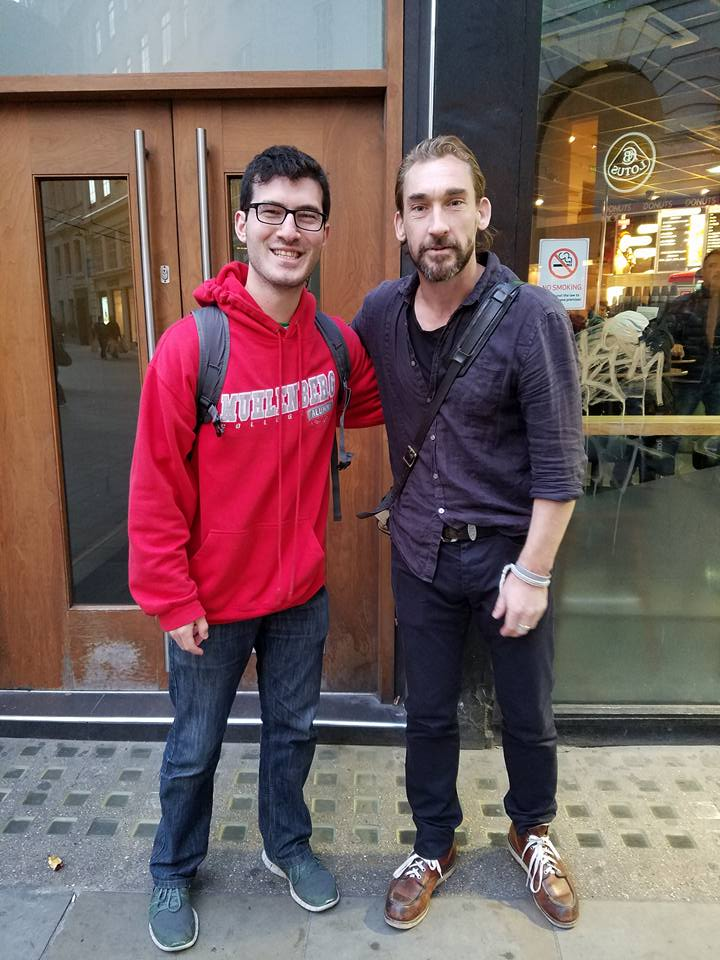 That time I jokingly went to London to 'run into MORE GOT celebrities' and almost barrelled past into Joseph Mawle, aka Benjen Stark