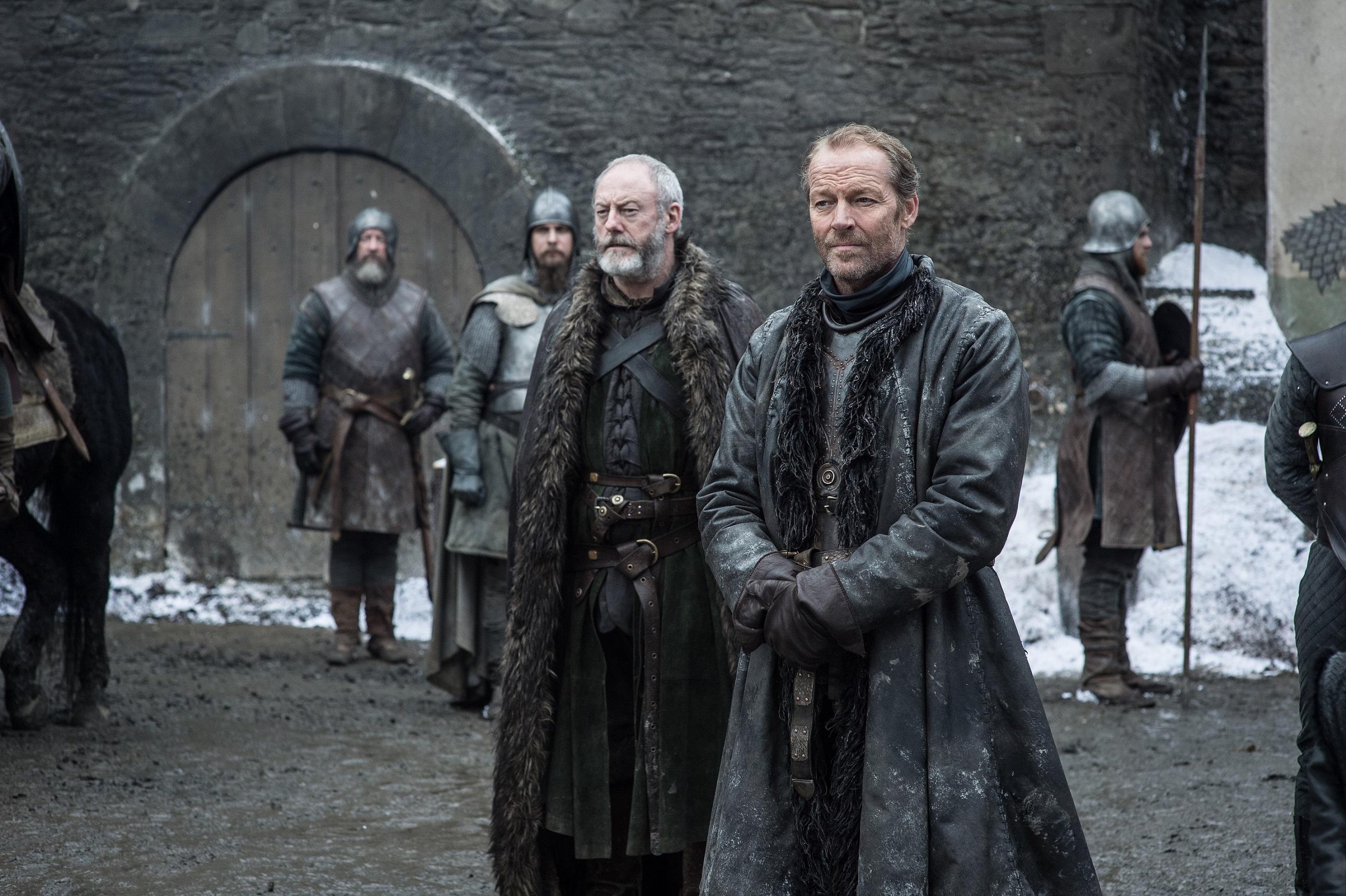 Davos Seaworth Jorah Mormont Season 8