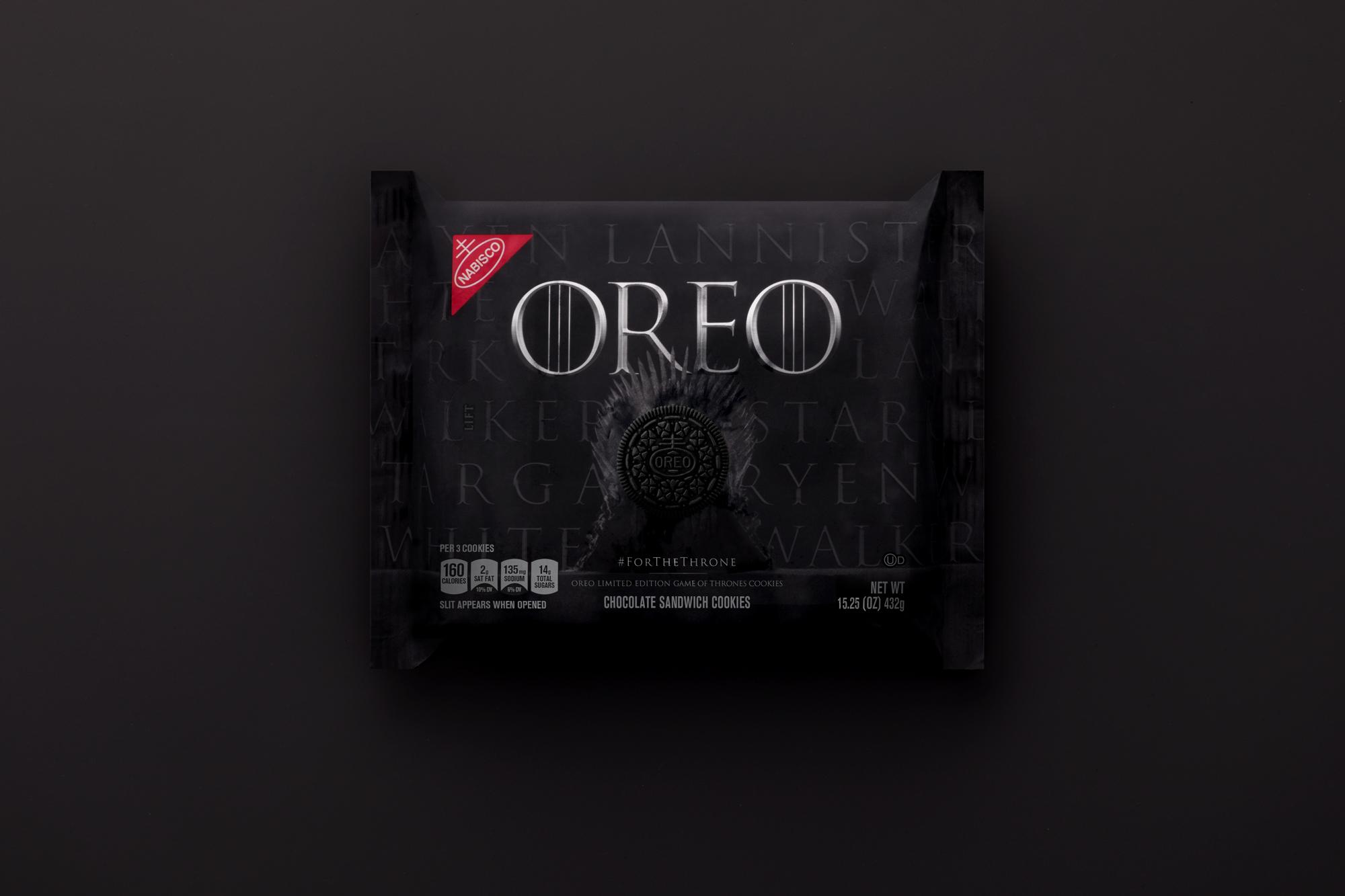 Game of Thrones Oreo 1