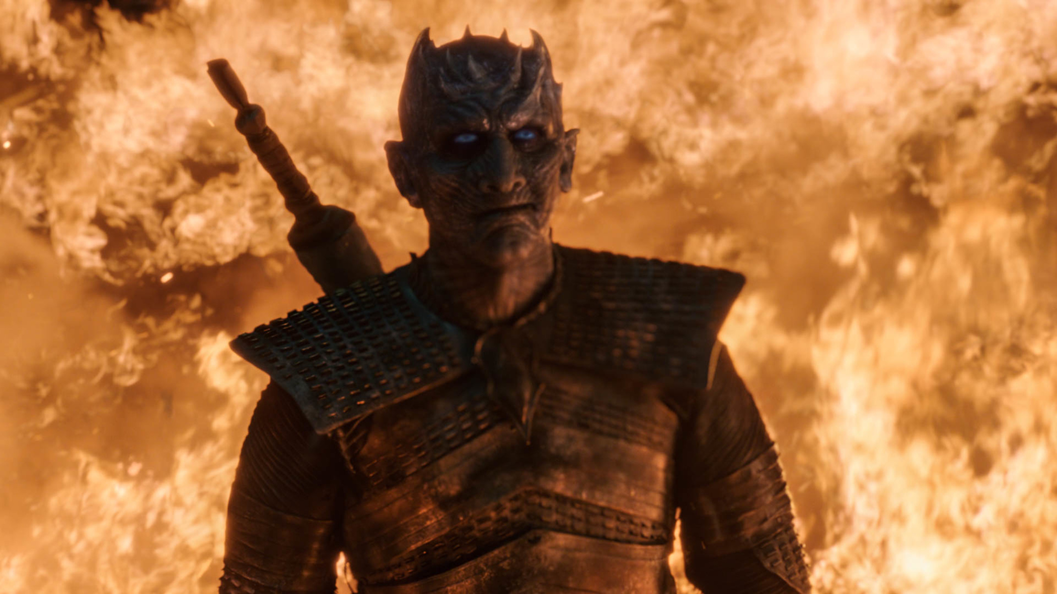 The Night King is so happy about the ratings he may just explode