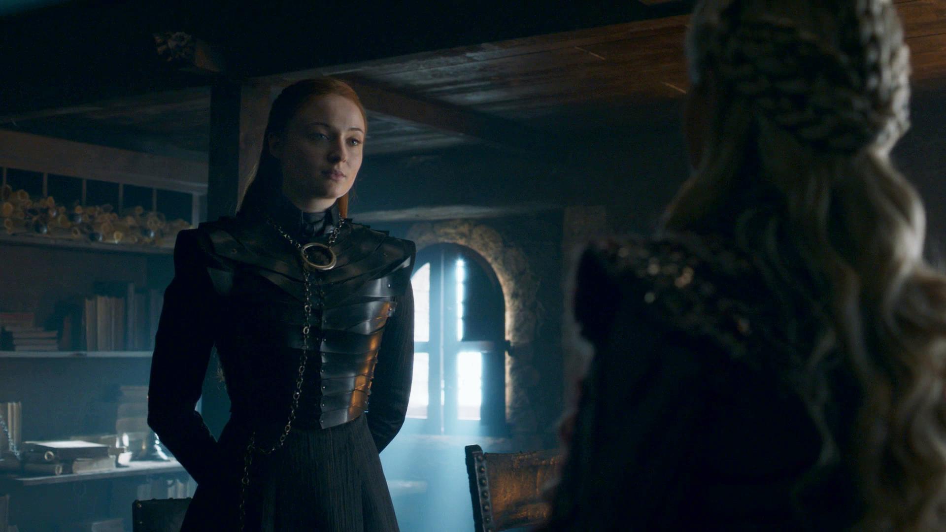 Sansa Daenerys Season 8 802