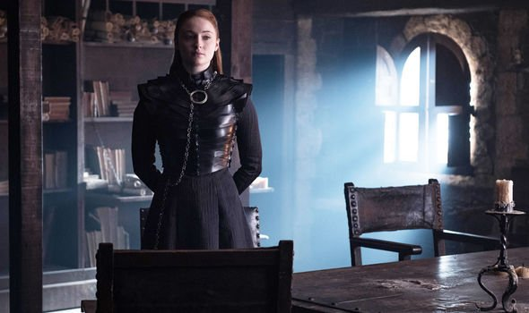Sansa Stark (Sophie Turner) in Season 8 Episode 2. Photo: HBO, via Express.