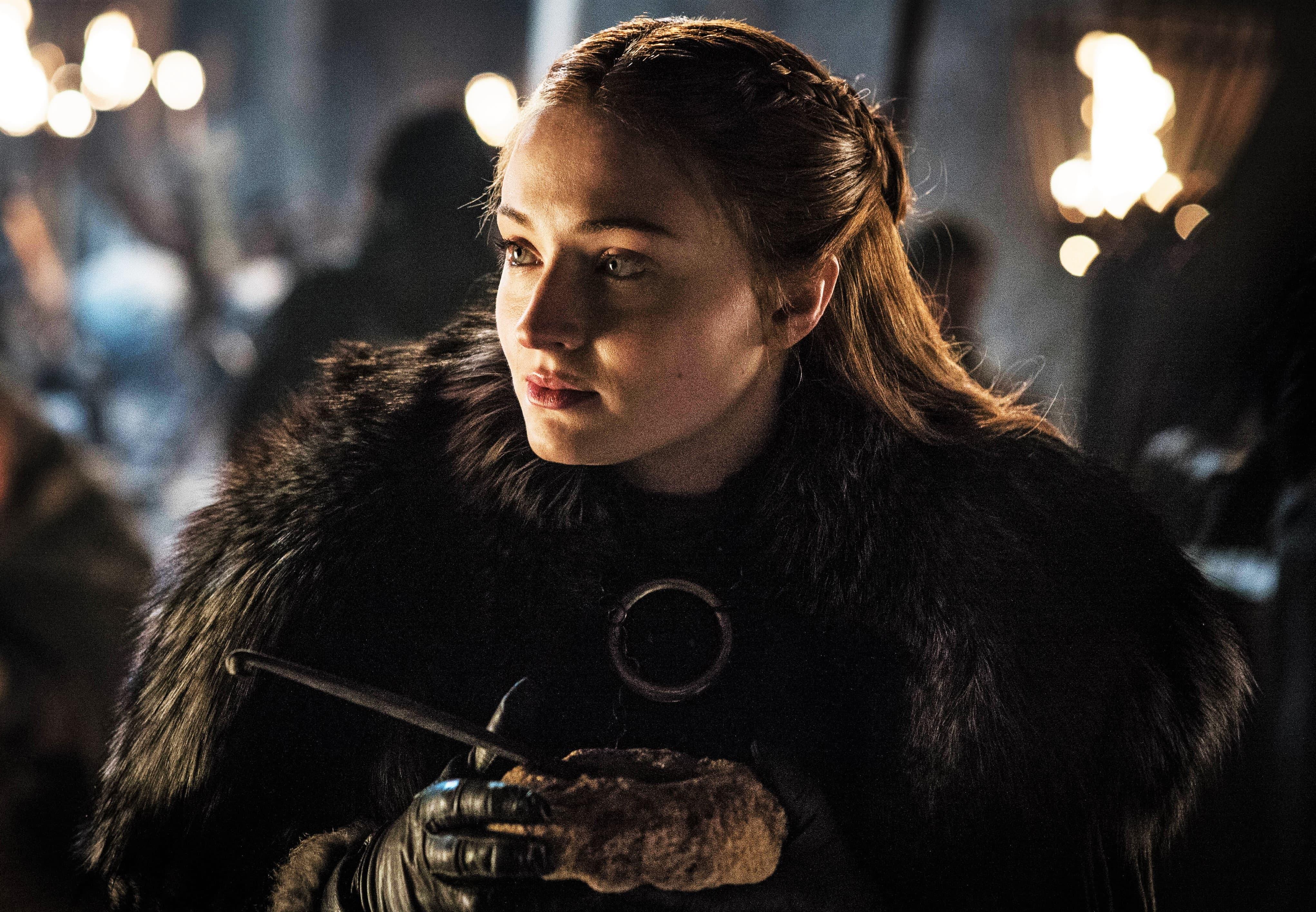 Sansa Stark Winterfell Season 8