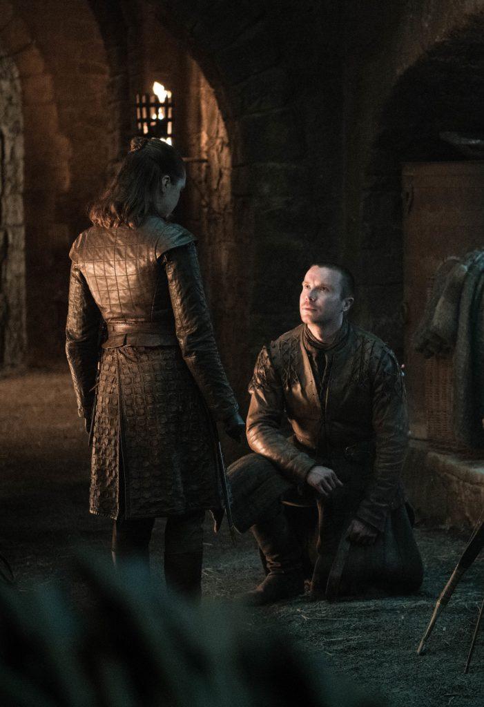 Arya Stark Gendry Baratheon Season 8 804