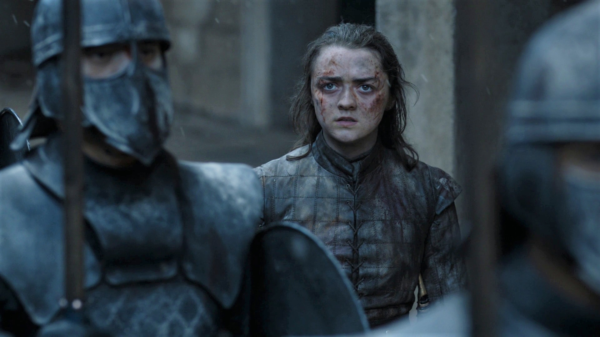 Arya Stark Unsullied King's Landing Season 8 806